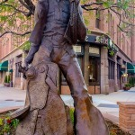 Denver Cowboy Statue photo: Sherel Purcell