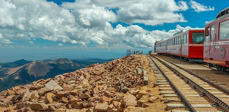 Train to Pikes Peak, Colorado