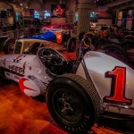 Race cars at The Henry Ford Museum