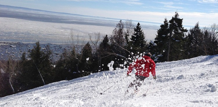 Skiing Quebec's Le Massif