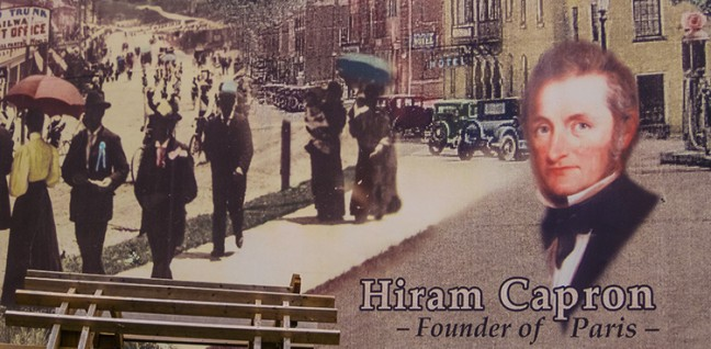 Hiram Capron Founder of Paris