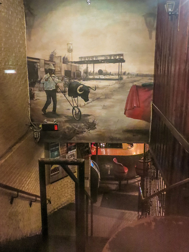 The Dakota Tavern lobby