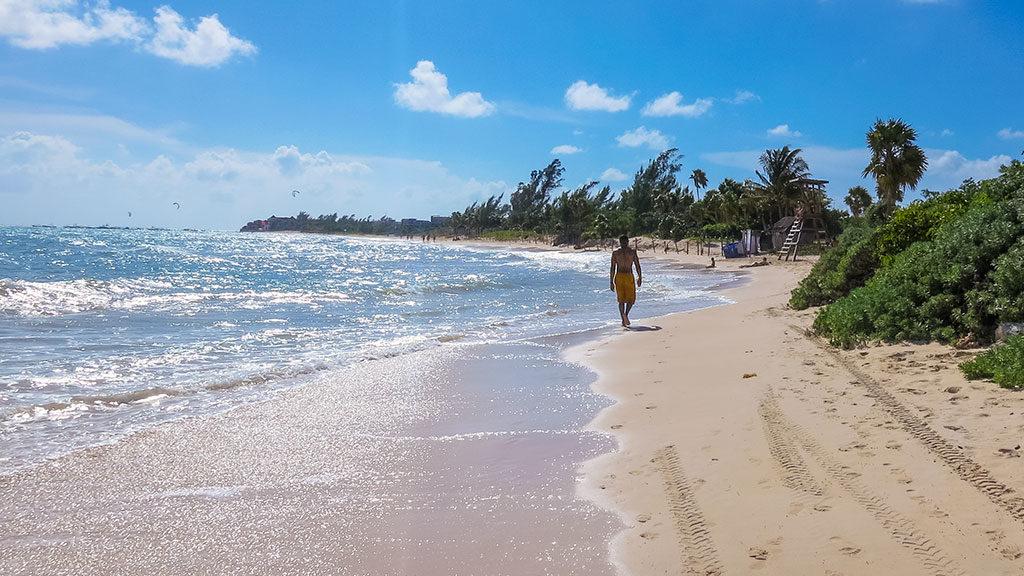 Beach near Paradisus Playa del Carmen
