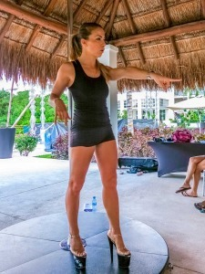 Pole Dancing Instructor at Paradisus Playa del Carmen