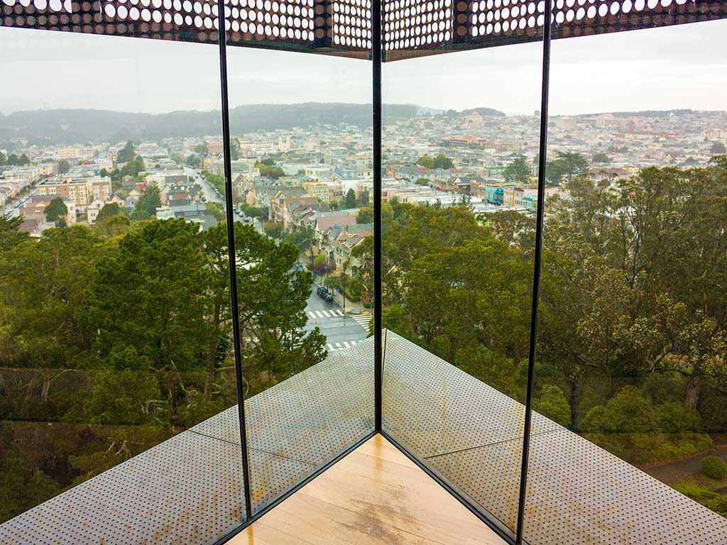 Hamon Observation Tower at The de Young Museum