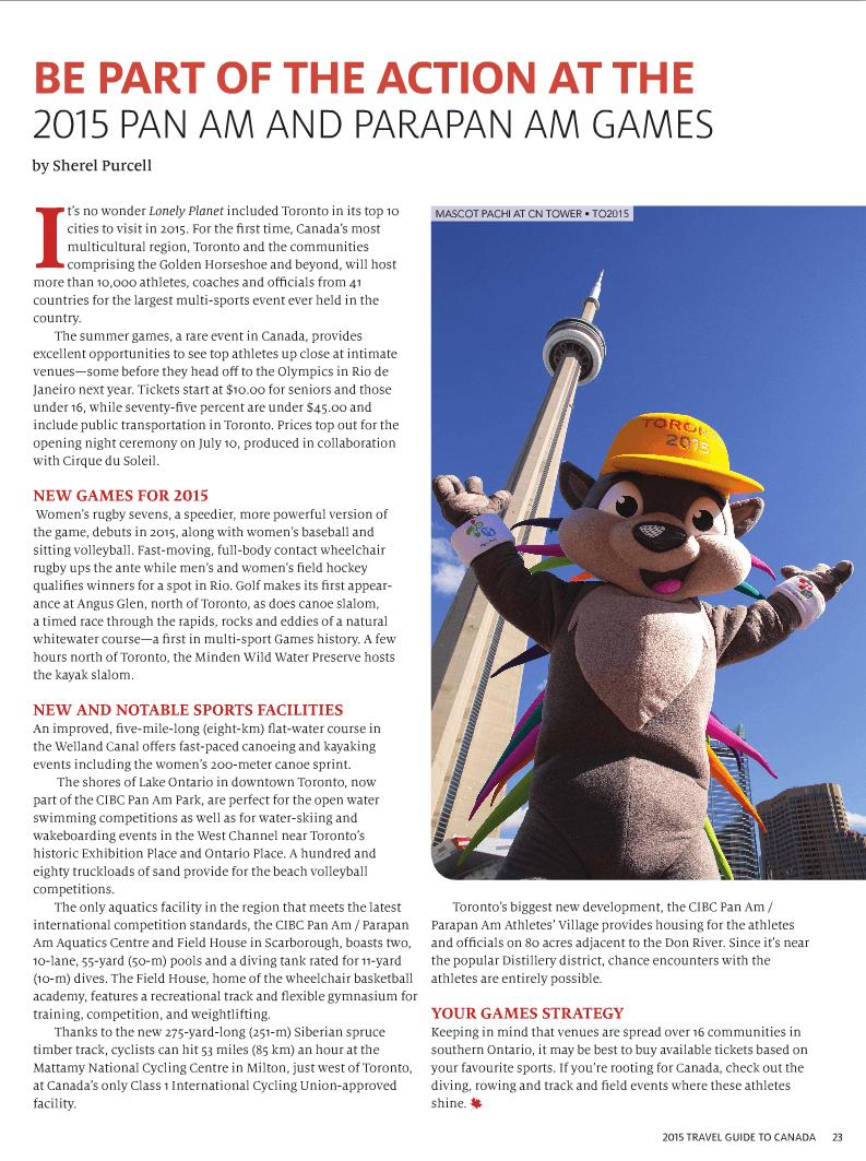 Toronto Pan Am Games 2015