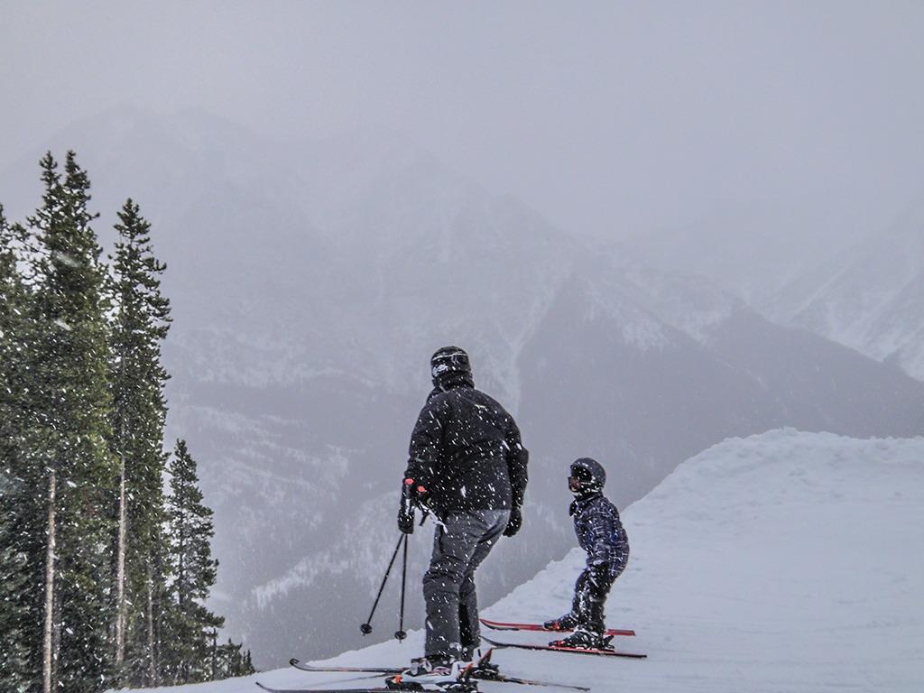 Skiing Kananaskis
