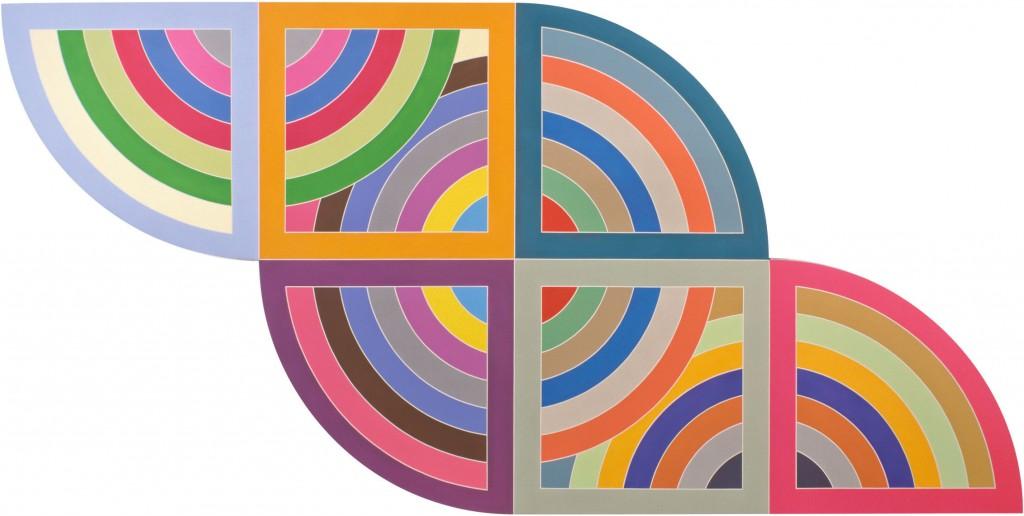 Harran ii Frank Stella 1967