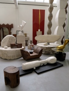 Sculptures in Atelier Brancusi