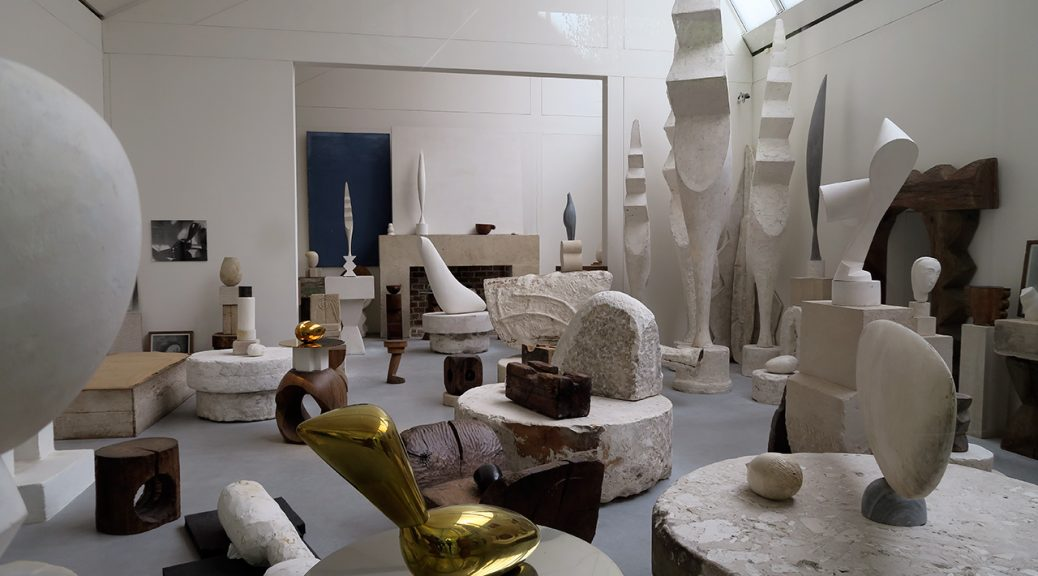 Atelier Brancusi in Paris