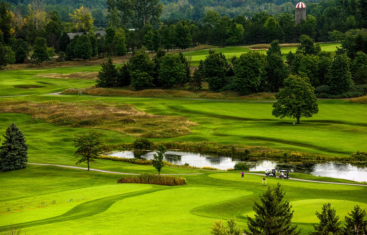 Hole One on The Bear at Grand Traverse Resort & Spa