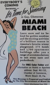Historic Miami Beach advertisement