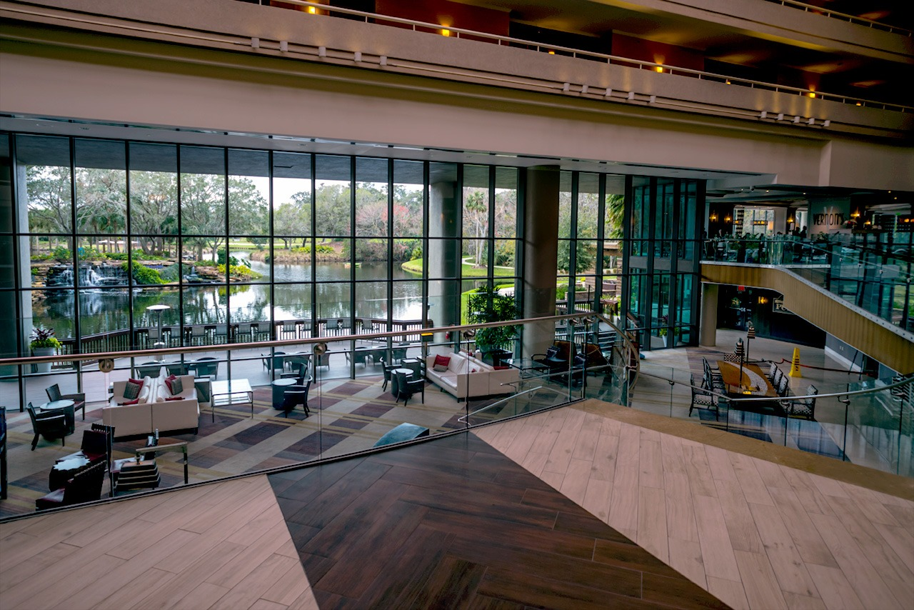 Lobby of Sawgrass Marriott Golf Resort & Spa