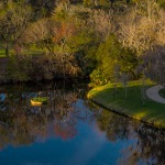 Mini 17th island green at Sawgrass Marriott Golf Resort & Spa