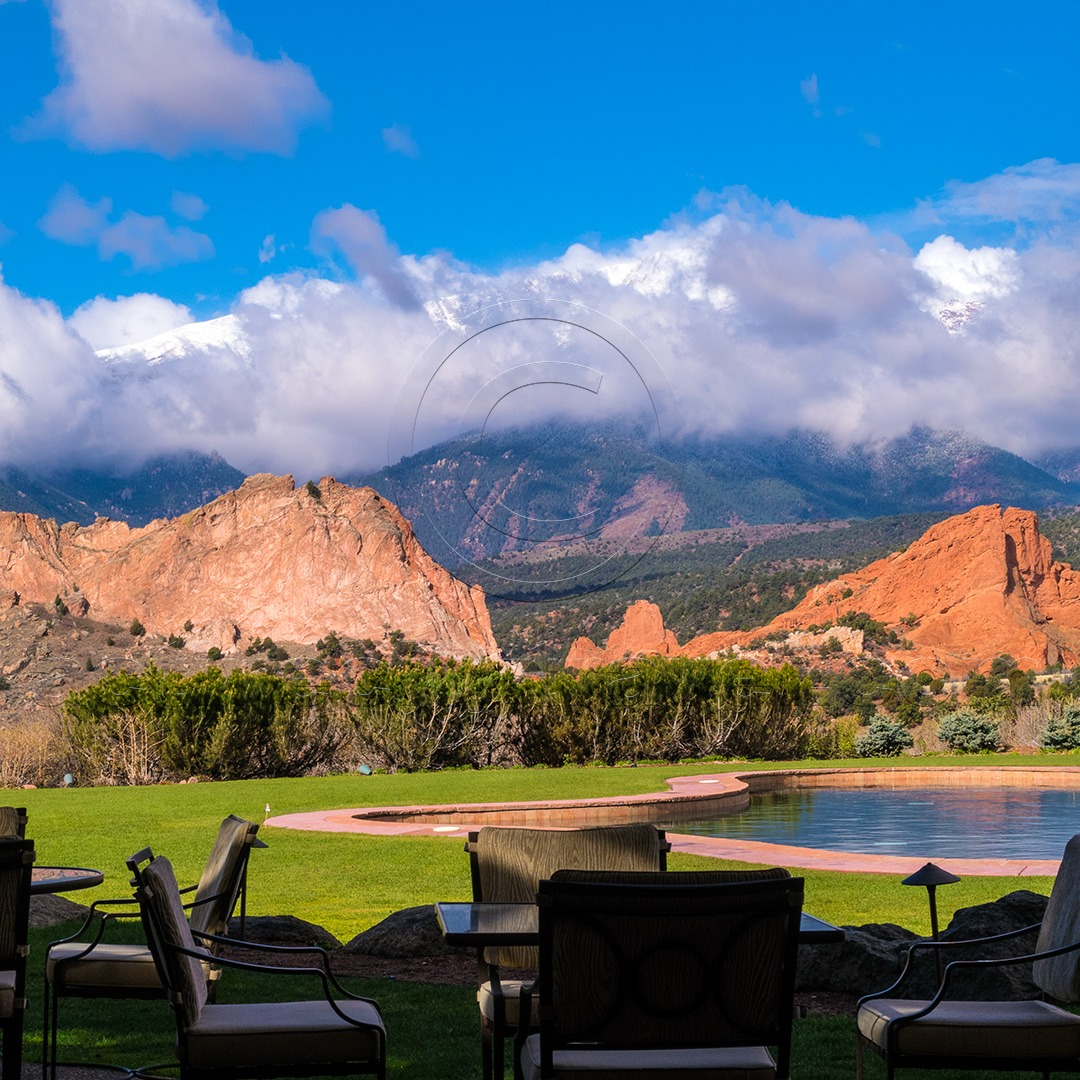 Terrace at Garden of the Gods Resort