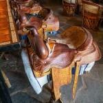 Bar Saddles at the White Stallion Ranch photo credit: John Cameron