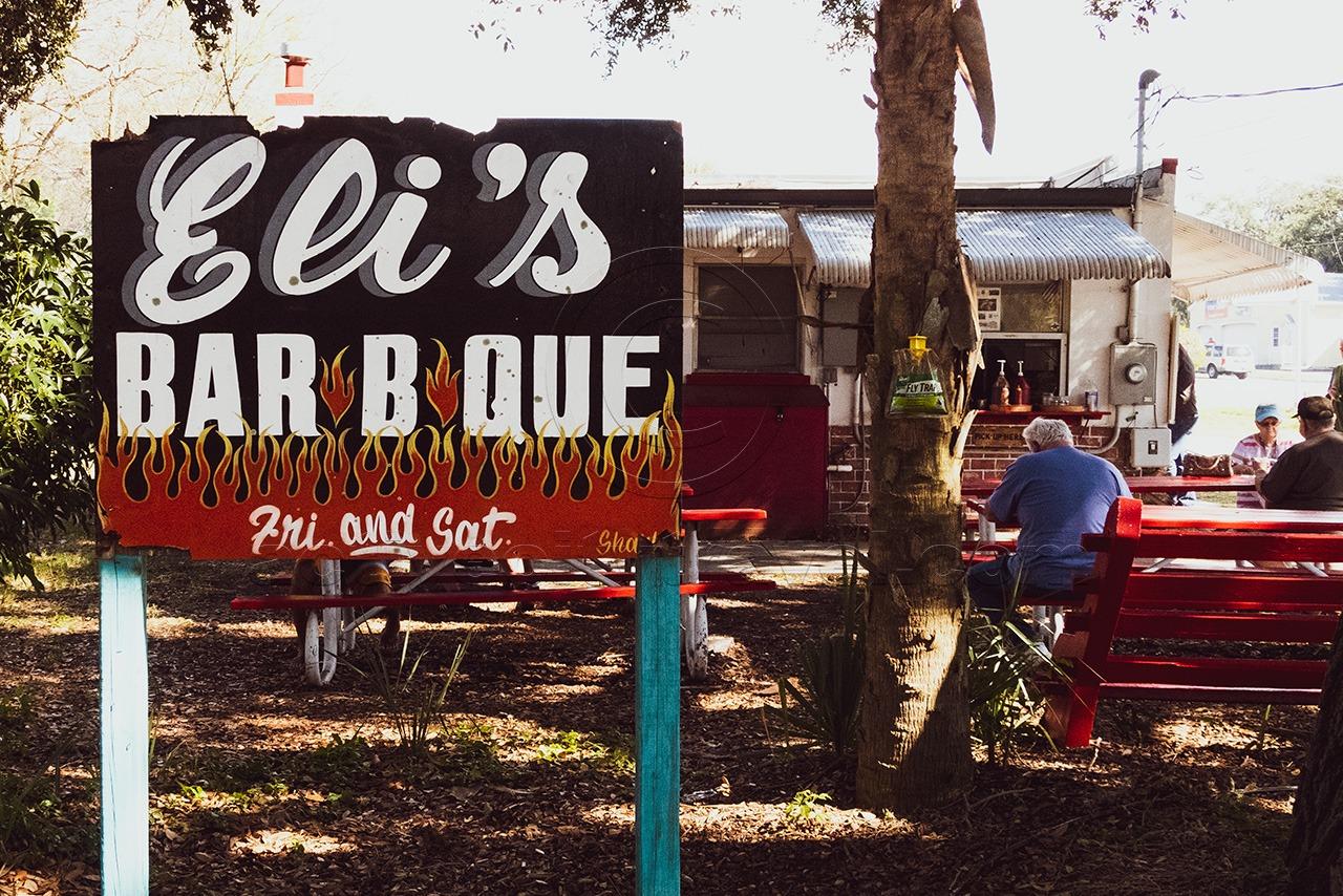 Eli's Bar B Que, Dunedin, Florida