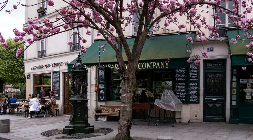 Shakespeare and Company Cafe, Paris