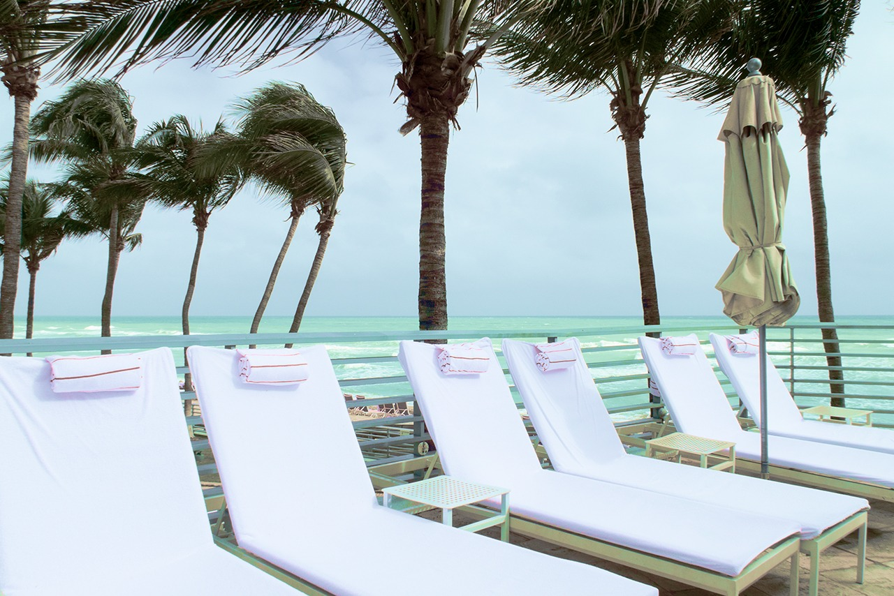 By the Pool at The Diplomat Beach Resort & Spa