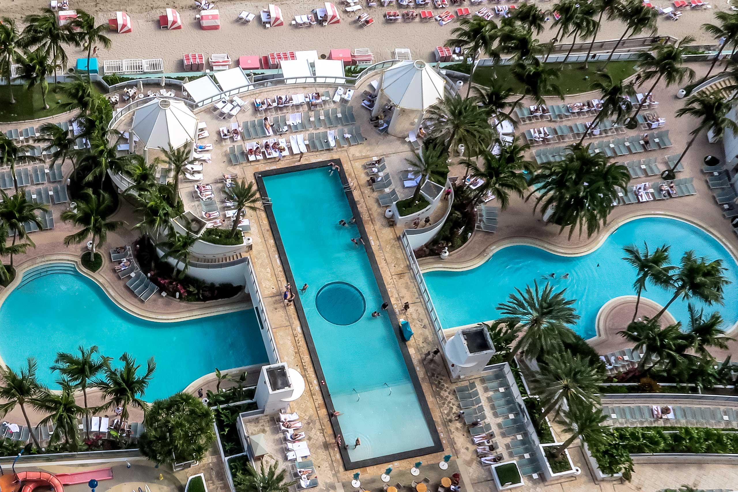 Diplomat Beach Resort pools