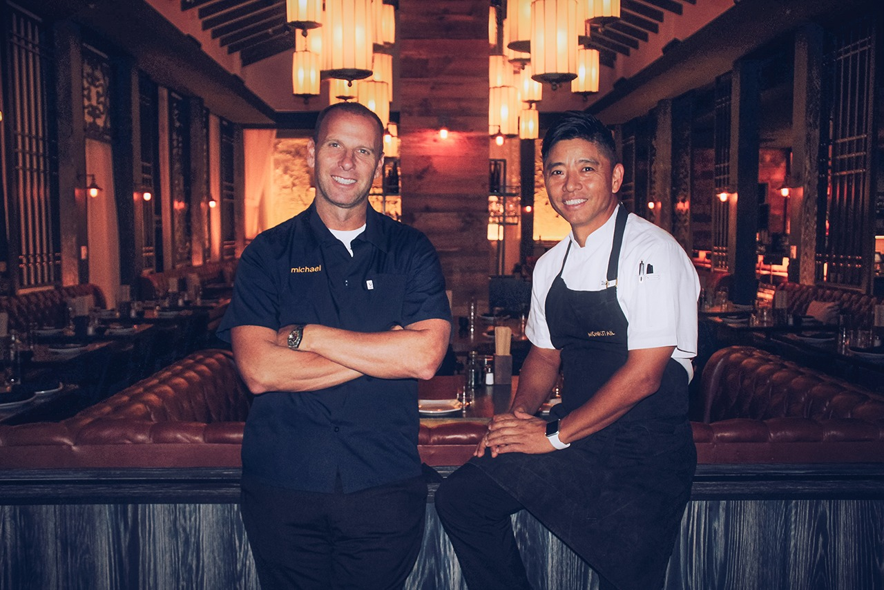 Michael Schulson & Chef Taek Lee