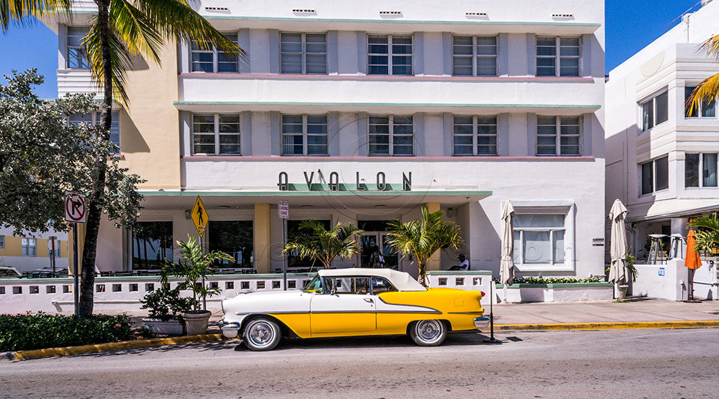 Avalon Hotel Ocean Drive Miami Beach