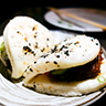 Duck Scrapple Bao Bun at Monkitail